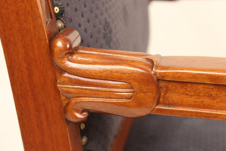 Pair of Directoire Style Armchairs For Sale 2