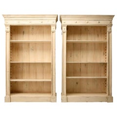 Pair of Directoire Style Bookcases