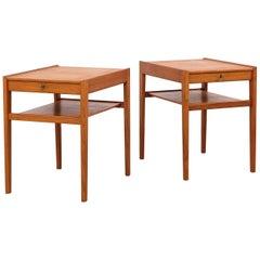 "Pair of ""Dixi"" Bedside Tables by Sven Engström & Gunnar Myrstrand for Tingströms"