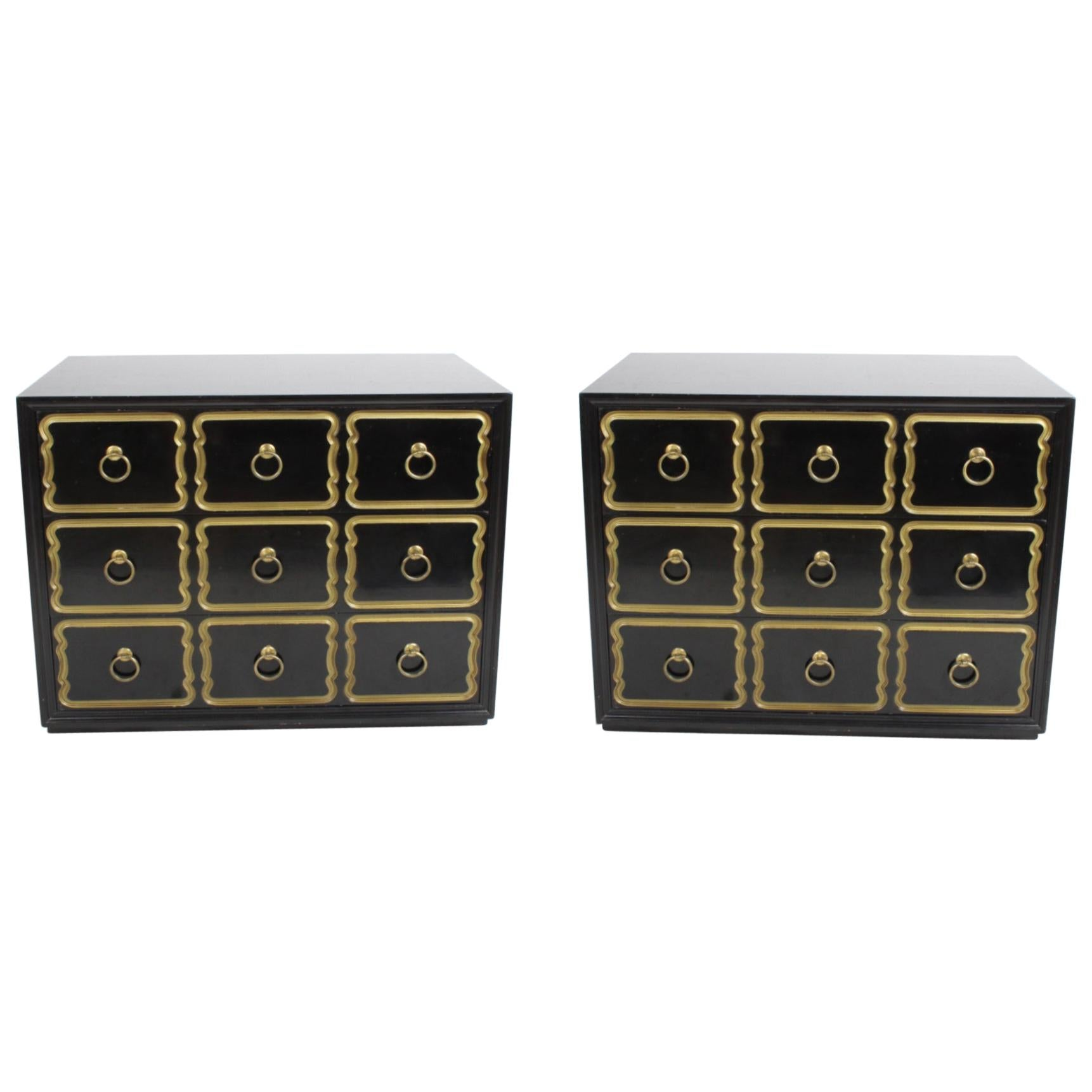 Pair of Dorothy Draper España Chests for Heritage