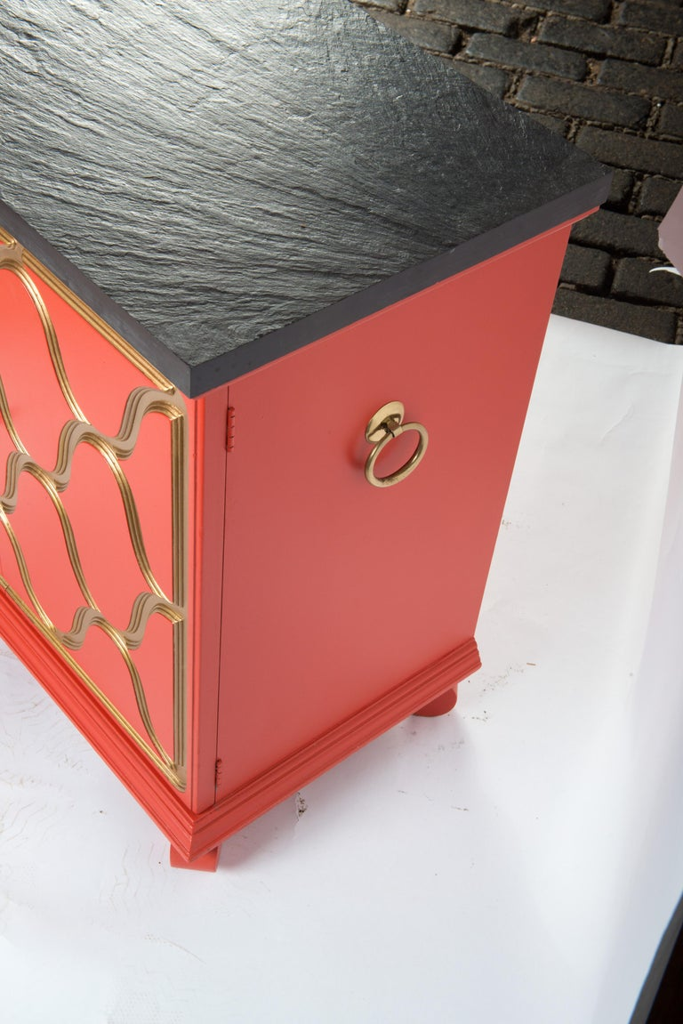 Pair of Dorothy Draper Espana Chests For Sale 5