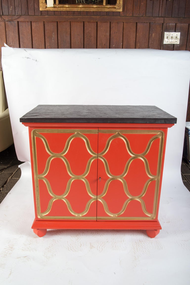 Hollywood Regency Pair of Dorothy Draper Espana Chests For Sale