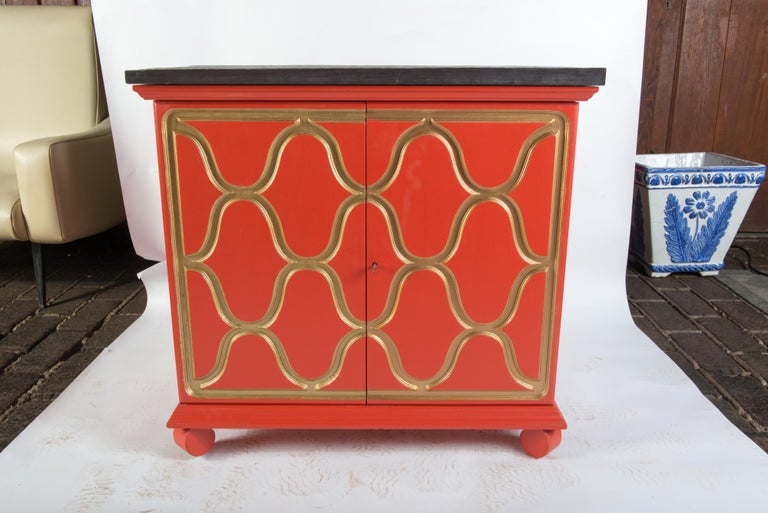 American Pair of Dorothy Draper Espana Chests For Sale