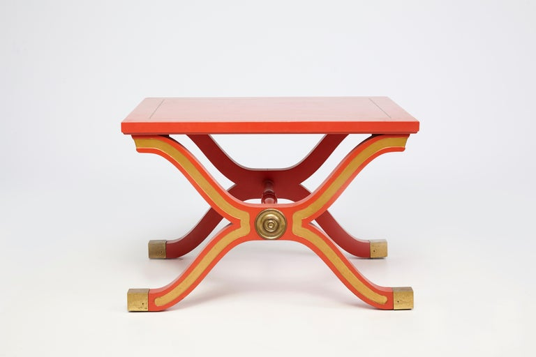 American Pair of Dorothy Draper España Side Tables For Sale