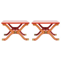Pair of Dorothy Draper España Side Tables