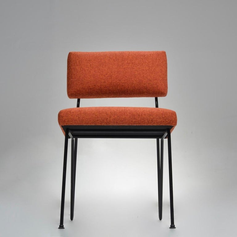 Rare Pair of Dorothy Schindele Hairpin Leg Chairs, Circa 1949 In Excellent Condition For Sale In Los Angeles, CA