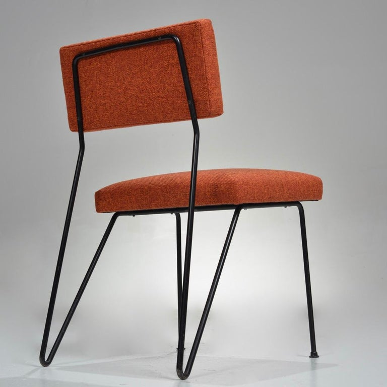 Rare Pair of Dorothy Schindele Hairpin Leg Chairs, Circa 1949 For Sale 2