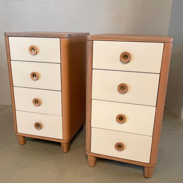 Machine Age Pair of Dressers by Raymond Loewy for Mengel For Sale
