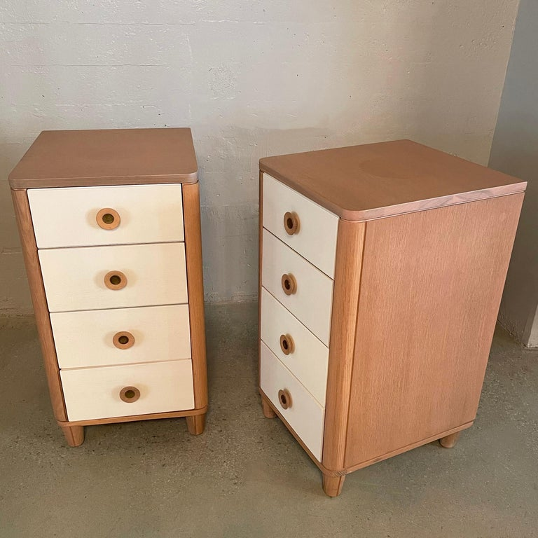Pair of Dressers by Raymond Loewy for Mengel In Good Condition For Sale In Brooklyn, NY
