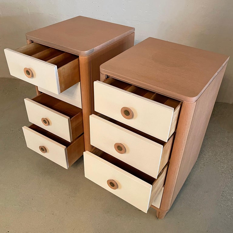 20th Century Pair of Dressers by Raymond Loewy for Mengel For Sale