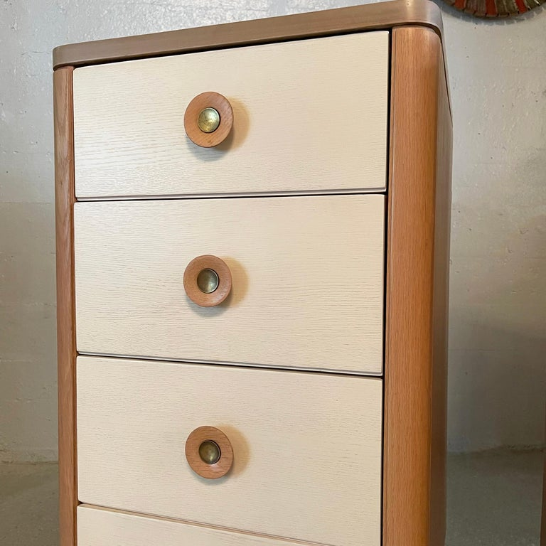 Pair of Dressers by Raymond Loewy for Mengel For Sale 1