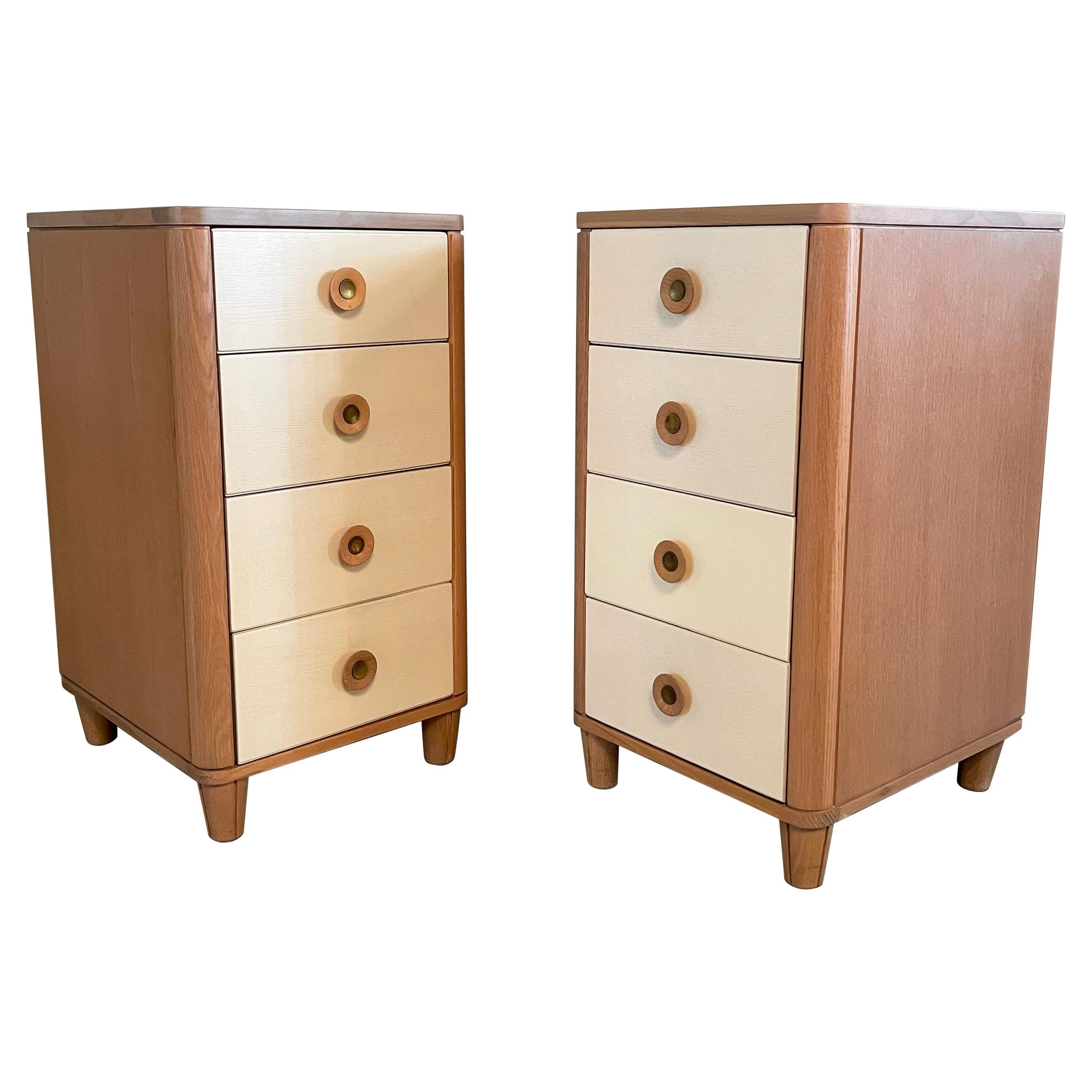 Pair of Dressers by Raymond Loewy for Mengel