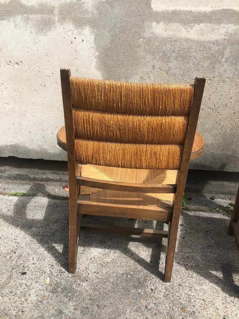 Other Pair of Dudouyt Armchairs For Sale