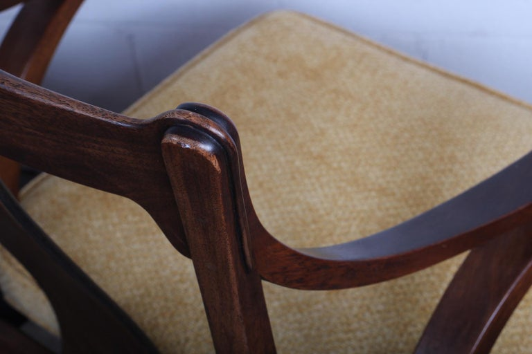 Pair of Dunbar Armchairs by Edward Wormley For Sale 7