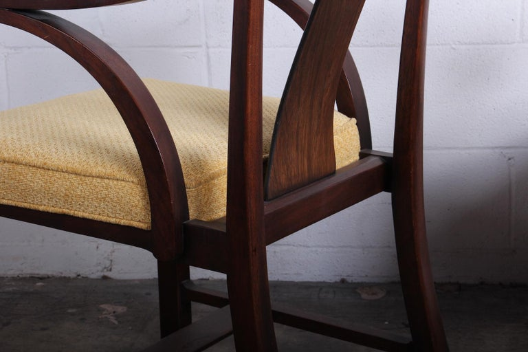 Pair of Dunbar Armchairs by Edward Wormley For Sale 10