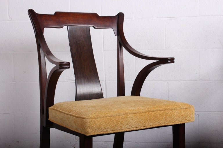 Pair of Dunbar Armchairs by Edward Wormley For Sale 13