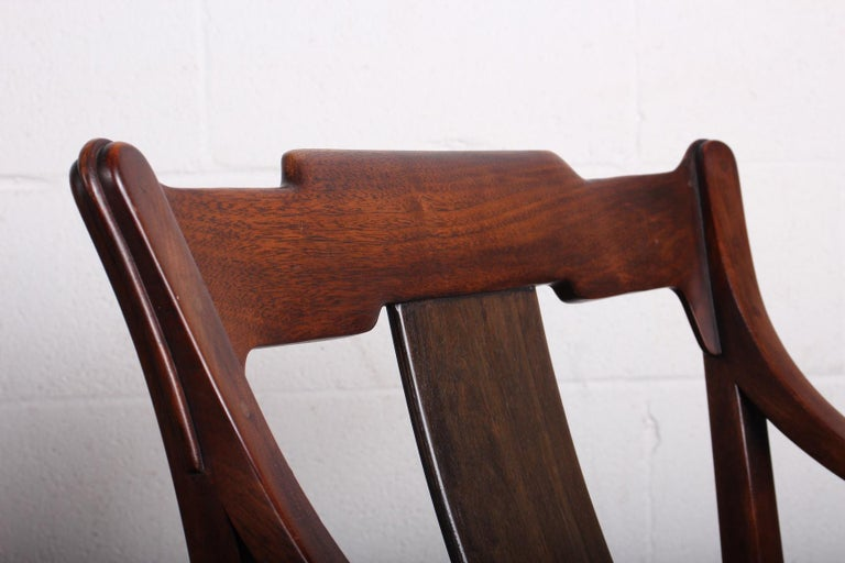 Pair of Dunbar Armchairs by Edward Wormley For Sale 2