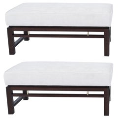 Pair of Dunbar Benches, Edward Wormley