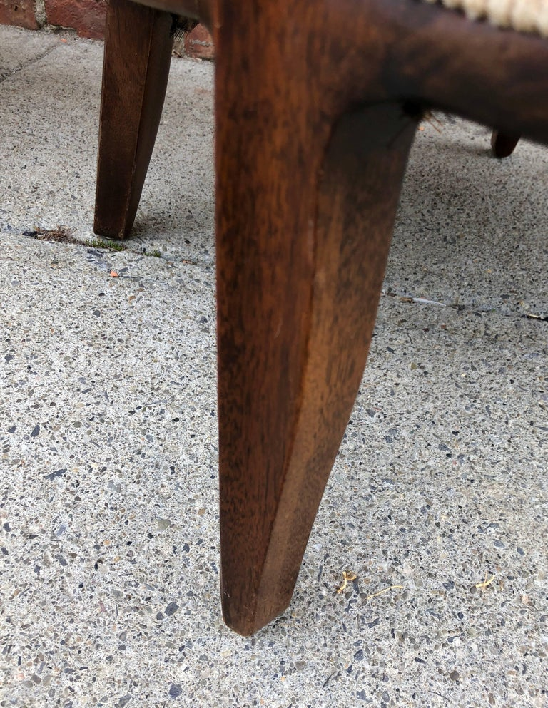Pair of Dunbar 'Janus' Lounge Chairs In Good Condition For Sale In Hudson, NY