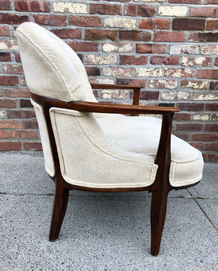 Mid-20th Century Pair of Dunbar 'Janus' Lounge Chairs For Sale
