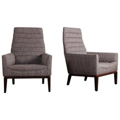 Pair of Dunbar Lounge Chairs by Edward Wormley