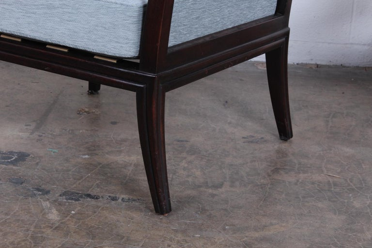 Pair of Dunbar Lounge Chairs For Sale 5