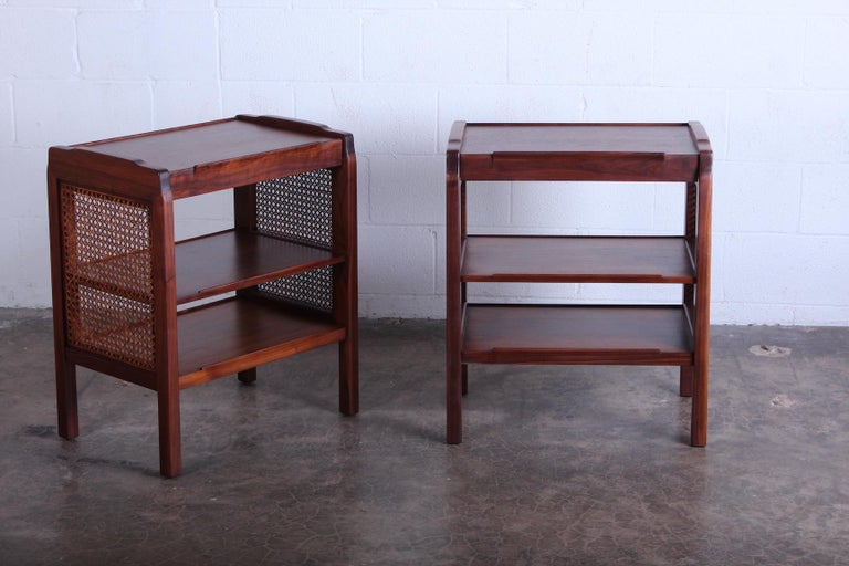 Pair of Dunbar Nightstands by Edward Wormley For Sale 6