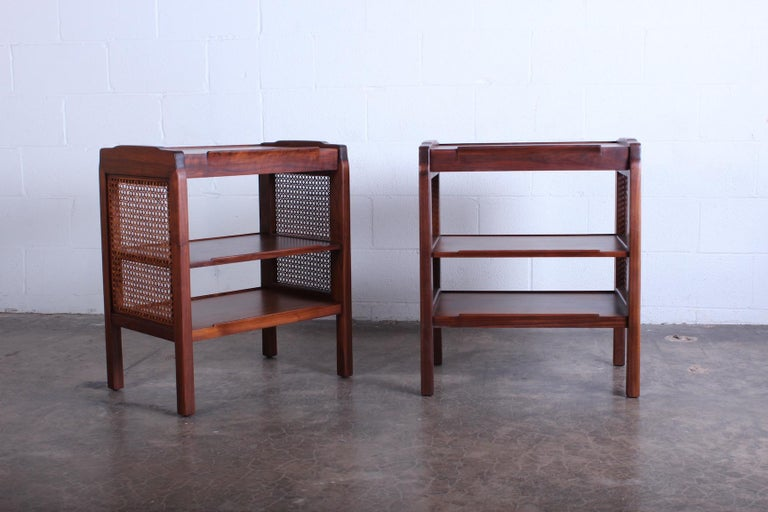 Pair of Dunbar Nightstands by Edward Wormley For Sale 7