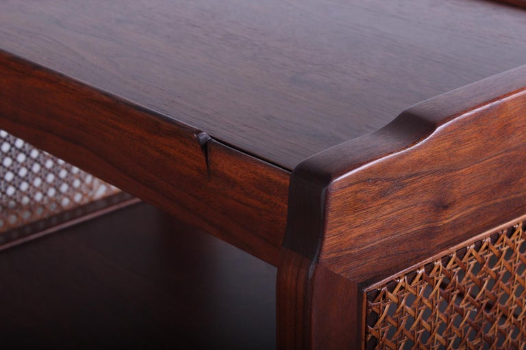 Pair of Dunbar Nightstands by Edward Wormley For Sale 2