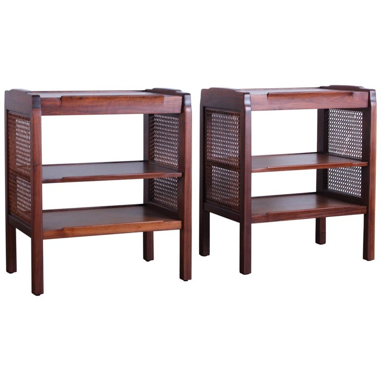 Pair of Dunbar Nightstands by Edward Wormley For Sale