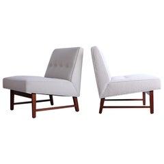 Pair of Dunbar Slipper Chairs by Edward Wormley