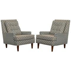 Pair of Dunbar Style Armchairs, 1980s