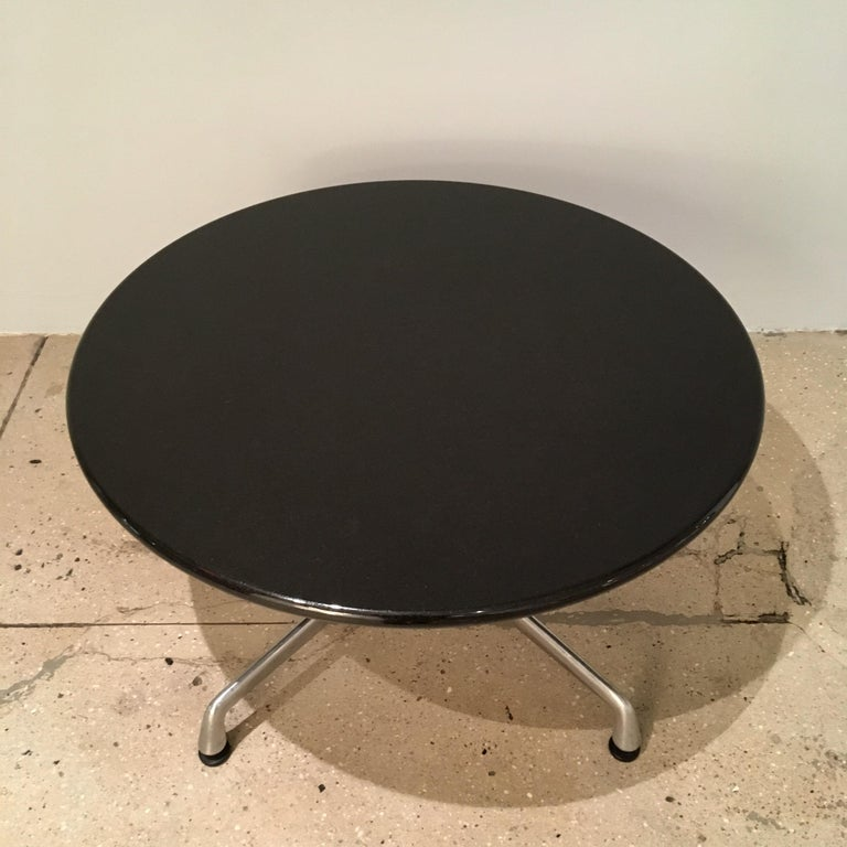 Pair of Eames for Herman Miller Granite Side Tables For Sale 3