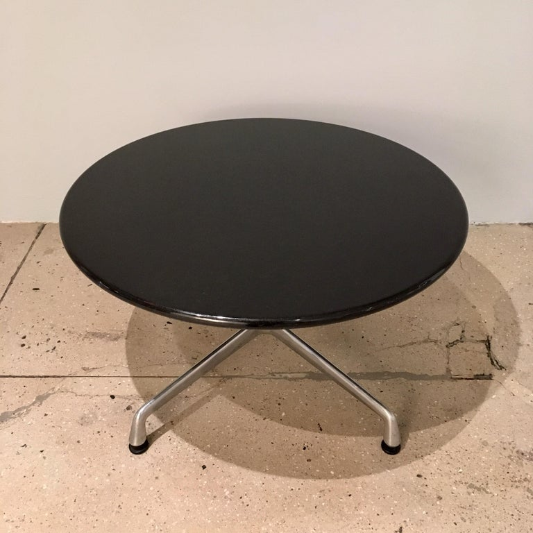 Pair of Eames for Herman Miller Granite Side Tables For Sale 1