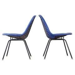 Pair of Eames for Miller MKX Wire Mesh Chairs