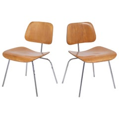 Pair of Eames Herman Miller Chairs