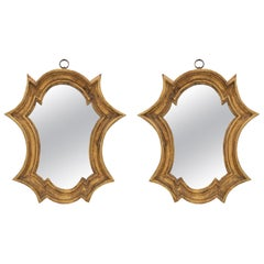 Pair of Early 18th Century Italian Baroque Period Mirrors