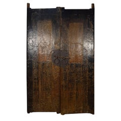 Pair of Early 19th Century Chinese Courtyard Doors