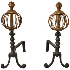 Pair of Early 19th Century Fire Dogs