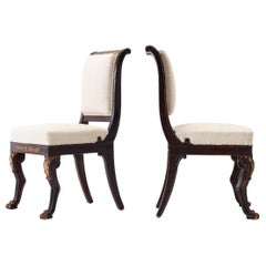 Pair of Early 19th Century French Side Chairs