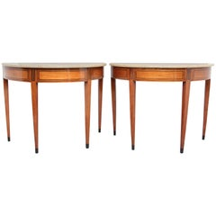 Pair of Early 19th Century Italian Console Tables