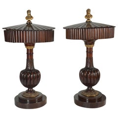 Pair of Early 19th Century Italian Wedding Boxes
