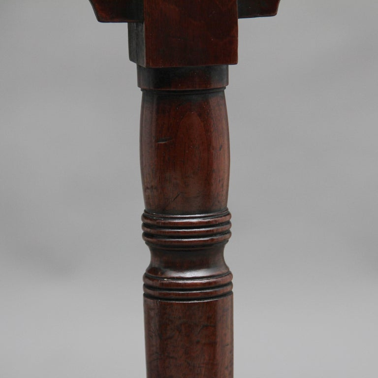 Pair of Early 19th Century Mahogany Console Tables For Sale 6