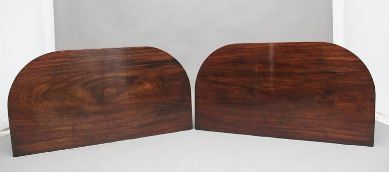 Mid-19th Century Pair of Early 19th Century Mahogany Console Tables For Sale
