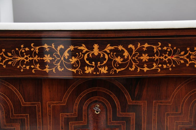 Pair of Early 19th Century Spanish Marble Top Commodes For Sale 8