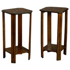 Pair of Early 20th Century Art Deco End Tables