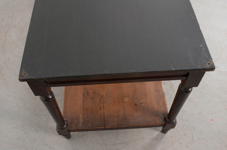 Pair of Early 20th Century French Drapery Tables For Sale 4