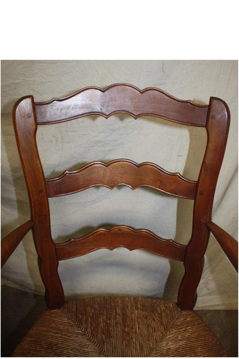 Pair of Early 20th Century French Provencal Armchairs For Sale 4