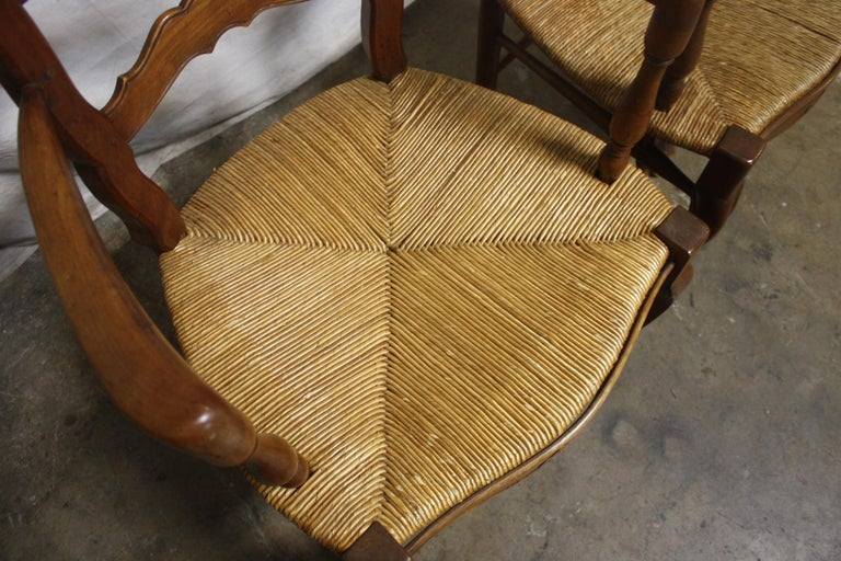 Pair of Early 20th Century French Provencal Armchairs For Sale 5