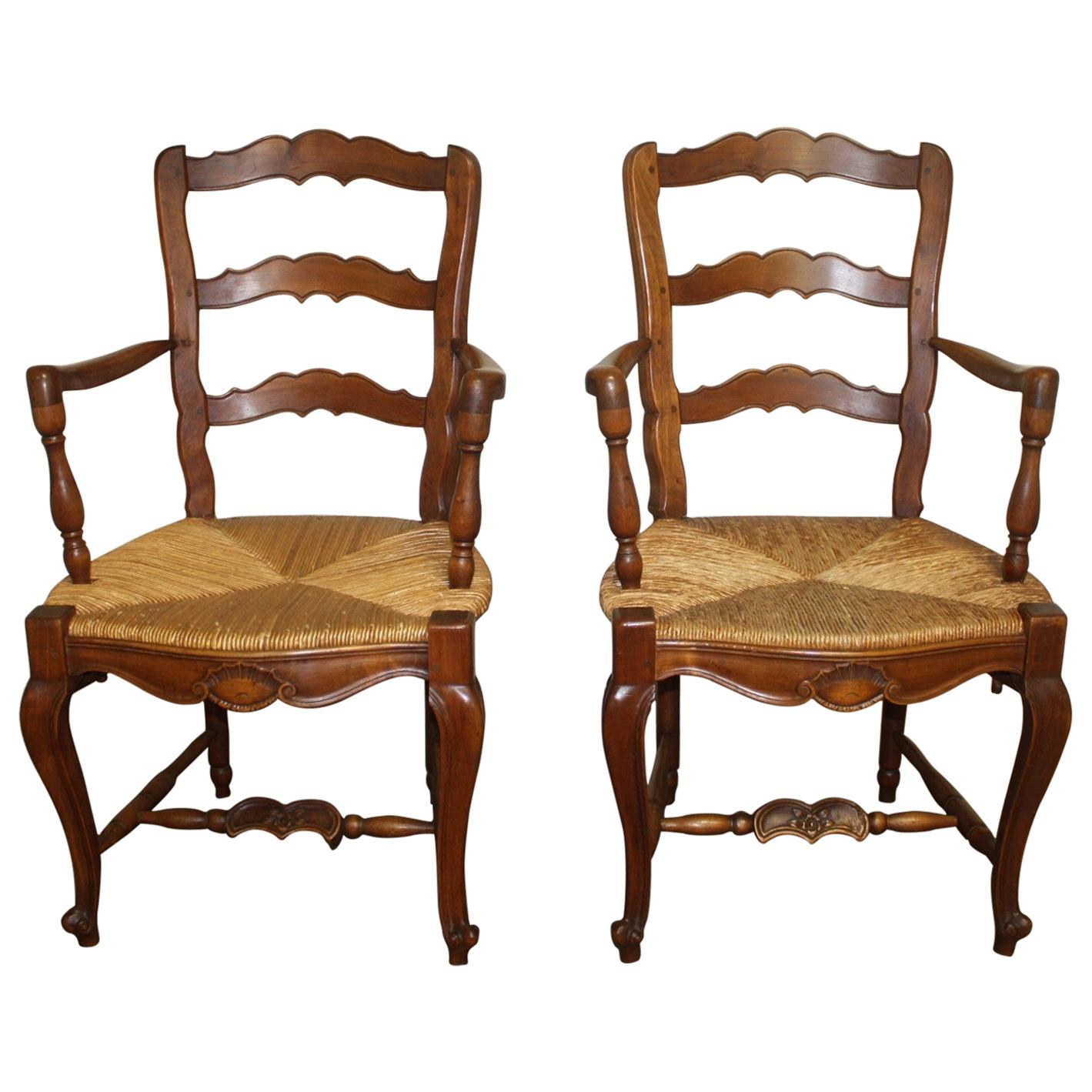Pair of Early 20th Century French Provencal Armchairs